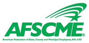 AFSCME Name Logo