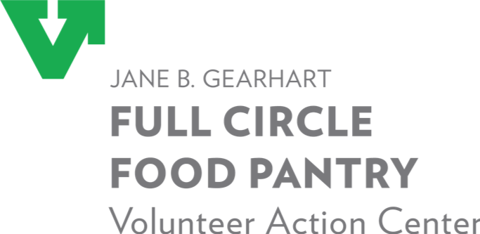 Logo for the Jane B. Gearhart Full Circle Food Pantry at the University of Arkansas